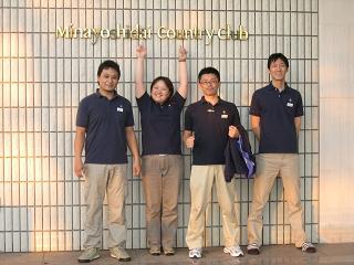 左から酒徳先生・伊藤先生・私・唐木田先生
